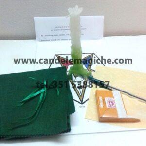 candela verde di sirio