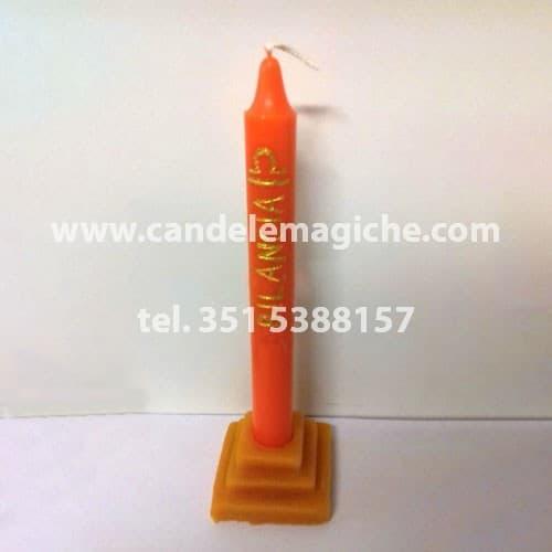 candela arancione dello zodiaco bilancia