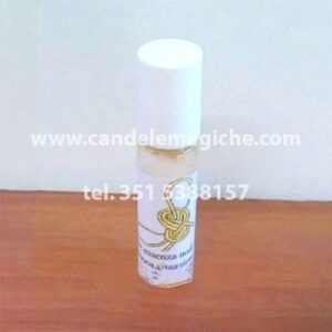 bottiglietta di essenza sciogli nodi per ritualistica