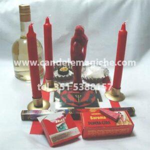 kit rituale per il legamento di sangue pomba gira rainha