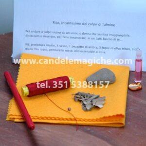 kit di oggetti per incantesimo d'amore