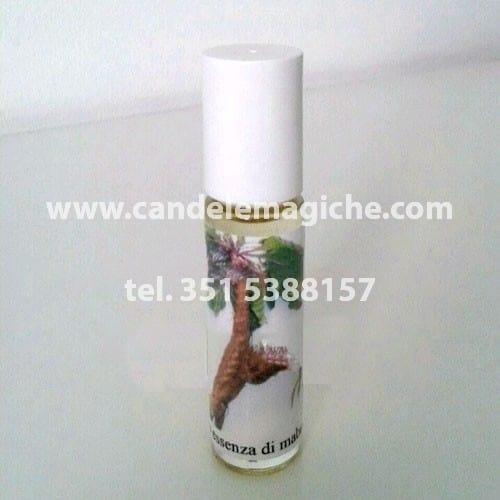 bottiglietta di olio di mandragora