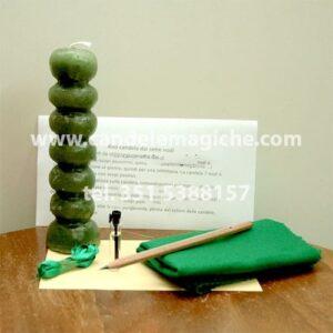 candela sei sette nodi per rituale