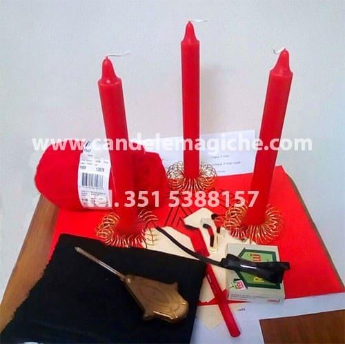kit occorrente per il rito del chiodo fisso