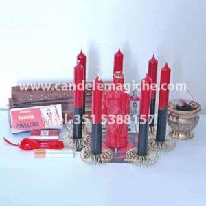 set di accessori per il rituale contro la frigidità femminile