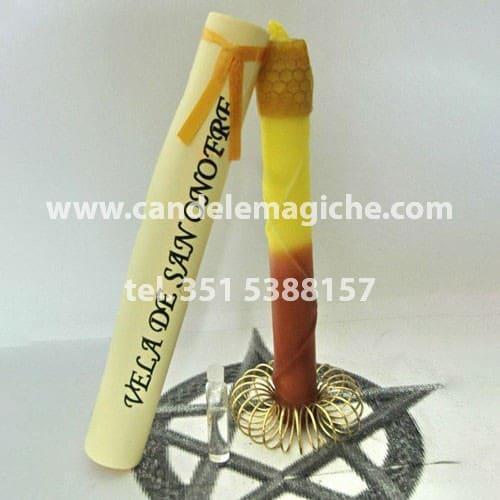 candela per il rito di sant'onofrio