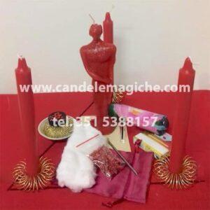 kit per effettuare il rituale per farsi amare perdutamente da un uomo