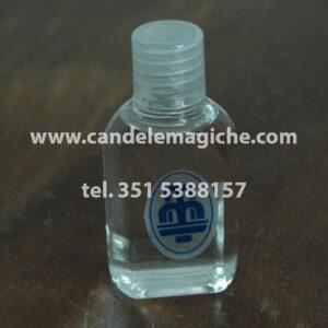bottiglietta di acqua santa liturgica benedetta