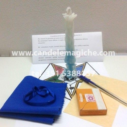 candela sirio celeste vendita