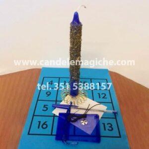 candela di tsadkiel per rituale di realizzazione personale