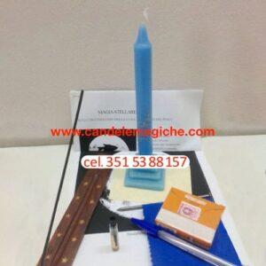 kit candele e accessori per magia stellare dei pesci