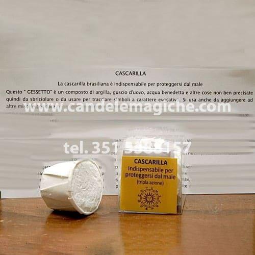 confezione di polvere di cascarilla
