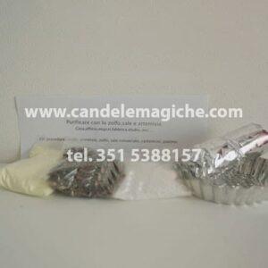 sacchetto di zolfo, artemisia e sale per purificazione
