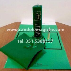 candela verde dell'arcangelo supremo hagit