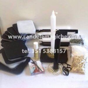 kit di accessori per il rito della mattonella bicolore