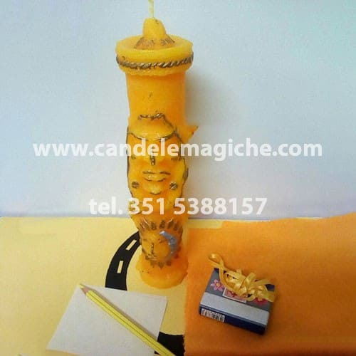 candela figurata per rito precolombiano inca antepasado