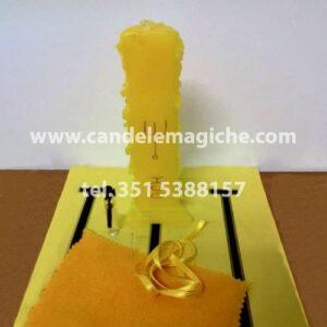 candela gialla dell'arcangelo hoc per rituale
