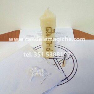 candela bianca dell'arcangelo phul per rituale