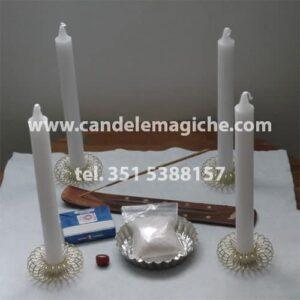 kit necessario per il bagno di purificazione con il sale