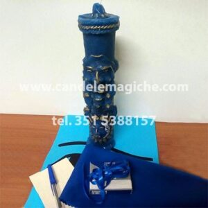 candela inca antepasado azzurra per rituale