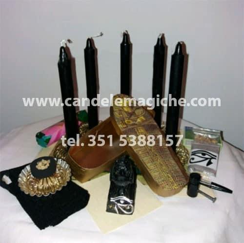 kit accessori per il rituale di horus