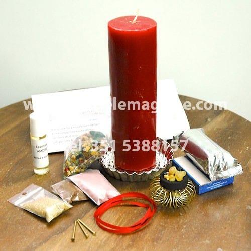 materiale occorrente per svolgere il rituale di sant'elia
