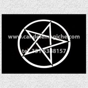 tovaglietta rituale formato a4 per magia nera