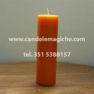 candela sete dias di colore arancione
