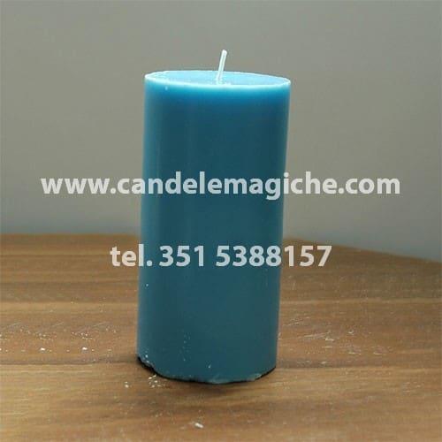 candela sete dias di colore celeste