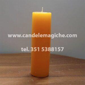 candela sete dias di colore giallo