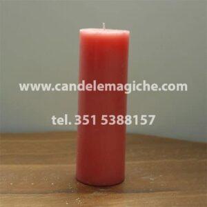 candela sete dias di colore rosa