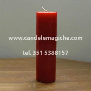 candela sete dias di colore rosso