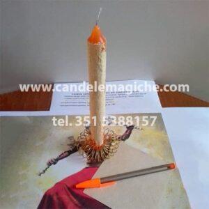 candela xango arancione