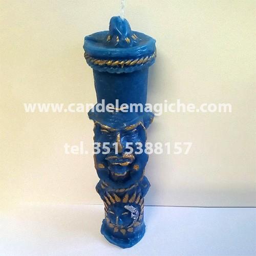 candela inca antepasado di colore azzurro