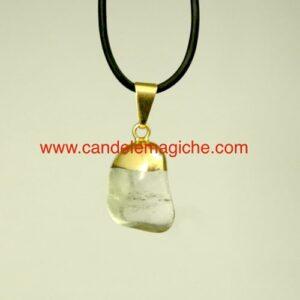 ciondolo con pietra opale per segno zodiacale della vergine
