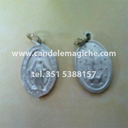 medaglietta di san'elena in argento