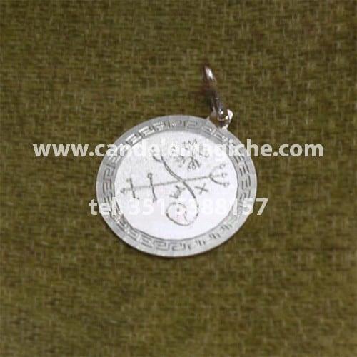 talismano pomba gira rainha in argento