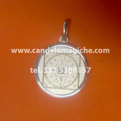 talismano in argento della dea lilith