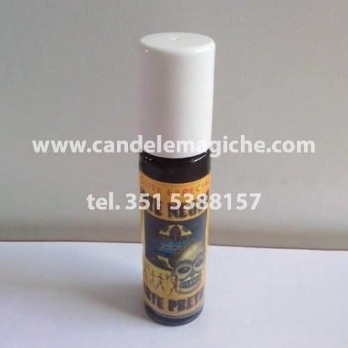 bottiglietta di aceite arte negro