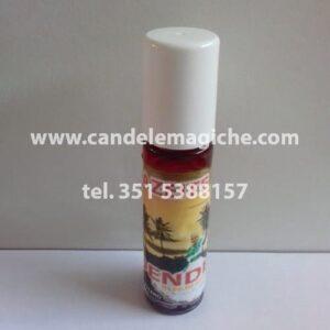bottiglietta di aceite dendè