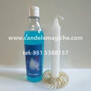 bottiglia di bagno purificatorio limpieza
