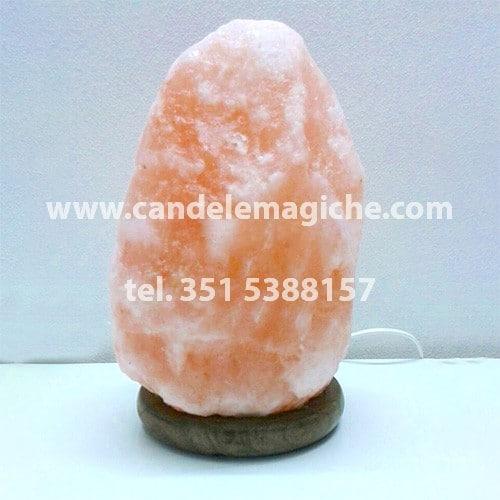 lampada di sale rosa