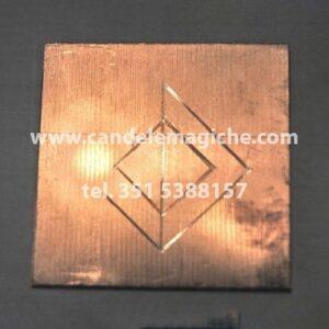 talismano runico in rame per trovare una compagna