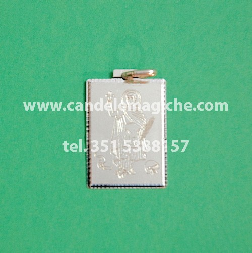 talismano in argento di sant'espedito