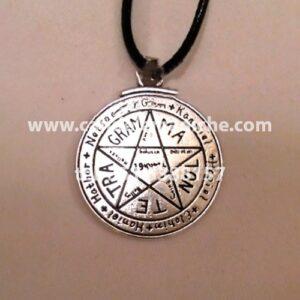 talismano di protezione tetragrammaton in acciaio