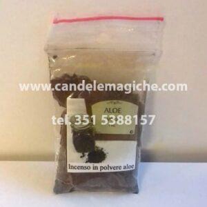 confezione di aloe vera in polvere