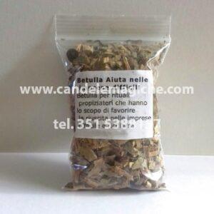 confezione di erba di betulla