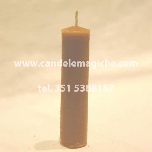 candela di supporto per rituali in pura cera d'api