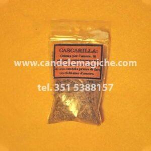 confezione di foglie d'erba di cascarilla
