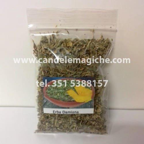 confezione di erba damiana